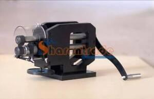 Belt Leather Embossing Pattern Wheel Roller Stamping Belt Roll Creasing Machine