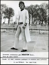 "photo vintage . mode . Maison de couture Sylvain Dayan . combinaison "" Houston """