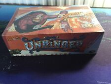 Mtg, Unhinged SEALED Booster Box.