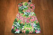 NEW&TAG ZARA strapless dress SIZE S 8 10 tulip structured wedding occasion party