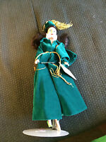 VINTAGE 1989 WORLD DOLL GONE WITH THE WIND SCARLETT IN GREEN OUTFIT COLLECTOR