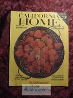 CALIFORNIA HOME June 1965 Bang Up Barbeques Strawberrries Gardens