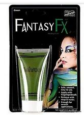 GREEN Cream Makeup Face Halloween Tube Costume FANTASY Stage Pretend FREE SHIPPI