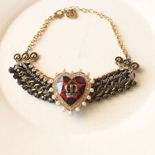 "New 14"" Betsey Johnson Heart Necklace Choker Gift Fashion Women Party Jewelry FS"