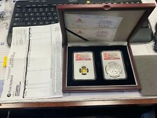2012 China - Year Of the Dragon - GOLD/SILVER Coin Set - NGC PF70 UCAM - SCARCE