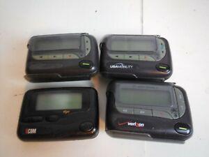 D9 Set of 4 Pagers Alpha Elite DDC 2 Unication  Motorola DPC AL-A25