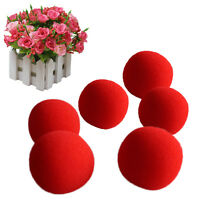 10xRed Sponge Soft Ball Close-Up Magic Street Classical Comedy Trick Props