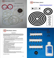 1975 Gottlieb Spirit of 76 Pinball Basic Tune-up Kit - Includes Rubber Ring Kit
