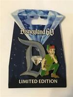 60TH PIN OF THE MONTH: DIAMOND D: PETER PAN LE 3000 DISNEY 111876