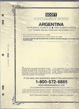 Scott Specialty Argentina Supplement 2015 642S015