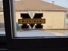 Lot of 25 University of Michigan (U of M) Static Cling Window Decals