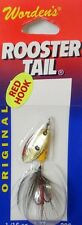 Wordens Roostertail 1/16oz - Yellow Coach Dog, Worden's Yakima spinner lure