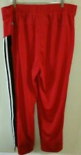 NBA Chicago Bulls adidas Clima365 Authentics Breakaway Warm Up Pants Men's 2XL