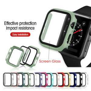 For Apple Watch Series 3/4/5/6/SE Full Protective Cover Case / Screen Protector