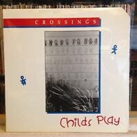 [SOUL/JAZZ]~SEALED LP~CROSSINGS~Childs Play~{Original 1988~IRIS~Issue]~