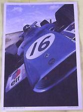 Collection Elf Compétition 70 MATRA Type MS 84  Affiche Publicitaire