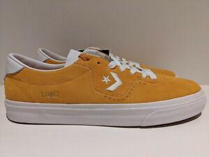 Converse x Alex Sablone Louie Lopez Pro Ox Sunflower Gold White Size 8 168672C