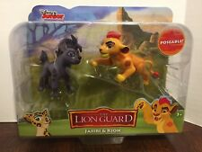 Jasiri (Female Hyena) and Kion Lion Guard Lion King Action Figures Disney Jr