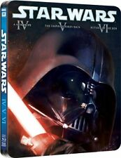 Star Wars: Original Trilogy IV V VI Limited Ed. SteelBook [Blu-ray, Region Free]