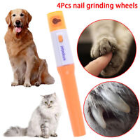 Electric pet dog cat pedicure grinder clipper claw toe nail trimmer kit   R8Y