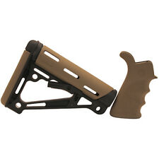 Hogue Finger Groove Beavertail Grip/OverMolded Collapsible Buttstock FDE 15355