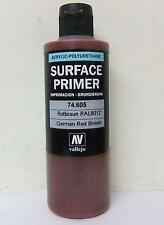 Vallejo Acrylic Polyurethane Primer German Red Brown RAL8012 200ml VAL 74605