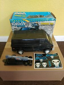 1991 Marvel Super Heroes The Punisher Van by Toy Biz htf with box