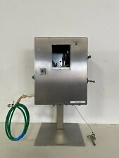 Stainless Steel 12 X 8 X 15 Enclosure On Stand With Key
