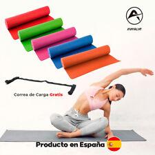 (Yoga Mat) Esterilla Gimnasia Colchoneta Fitness Pilates deporte C/Carga Gratis