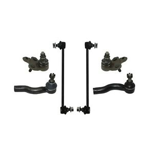 6 Pc Suspension Kit for Scion tC 2005-2010 Outer Tie Rod Sway Bar Ball Joints