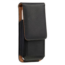 Universal Leather Belt Pouch Case Cover Wallet Holster Belt Clip For Cell Phone