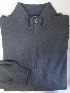 NWT Roundtree & Yorke 1/2 Zip Sweatshirt BIG Size 2XB