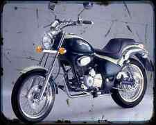 Gilera Coguar 125 2 A4 Photo Print Motorbike Vintage Aged