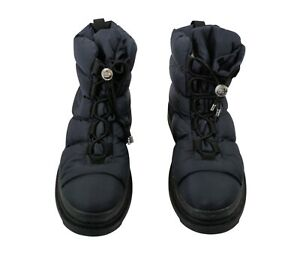 Chanel Blue Nylon Winter Boots - Free Shipping USA