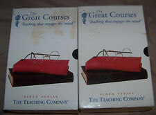 THE GREAT COURSES FROM MONET TO VAN GOGH 6 VHS VIDEO SERIES PARTS 1 & 2
