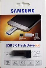 Samsung 128GB Flash Drive Duo MUF-128CB USB 3.0 Flash Drive