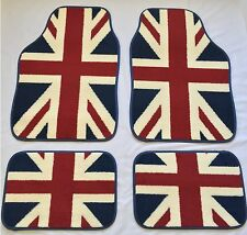 UNION JACK FLAG CAR MATS FOR HYUNDAI I10 I20 I30 IX35 I40 ACCENT COUPE GETZ
