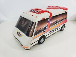 Vintage Micro Machines Mobile City Van 1991 Galoob opens to Micro Machine City
