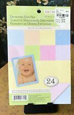 K & Company Pastel Baby Double Sided Designer Scrapbook Mat Pad