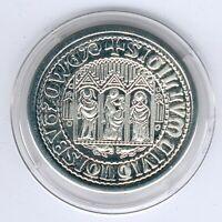 Germany Rare Medal from Buetzow i. Meckl. Stiftskirche (Zinn) D.30,18mm, PP-