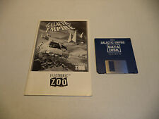 Commodore Amiga GALACTIC EMPIRE Computer Game by Electronic Zoo!!