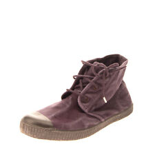 CHIPIE Canvas Sneakers EU 37 UK 4 US 5 Ecological Fabric Worn Look Lace Up