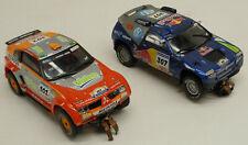 SCX 1/32 4x4 Mitsubishi Montero & Volkswagen Touareg Rally Off Road Slot Car Lot