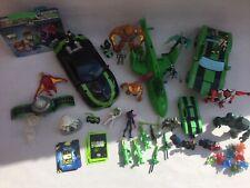 Ben 10 Vehicles And Figures Bundle Joblot Assortment