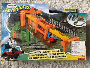 Fisher-Price Thomas & Friends Adventures Misty Island Zip-Line Train Track Set