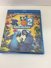 Rio 2 SING ALONG Blu Ray DVD and digital HD New and sealed
