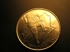 Canada 2007 Vancouver 2010 Olympics Ice Hockey 25 Cent Mint Coin.