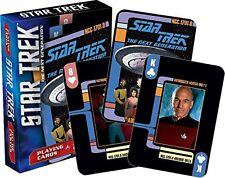 Star Trek Next Generation Spielkarten Set Mit 52 Stück - Poker Playing Cards