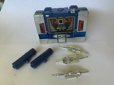 Original G1 Soundwave Transformer Complete with tape & weapons