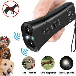 Ultrasonic Anti Bark Control Stop Barking Away Pet Training Repeller IjPgR